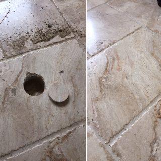 floor tile repair