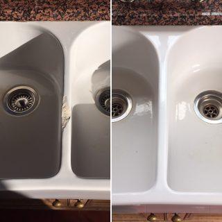 Sink enamel repair