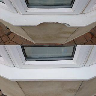 upvc crack repair